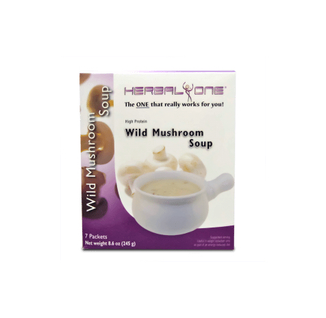 Wild Mushroom High Protein Soup